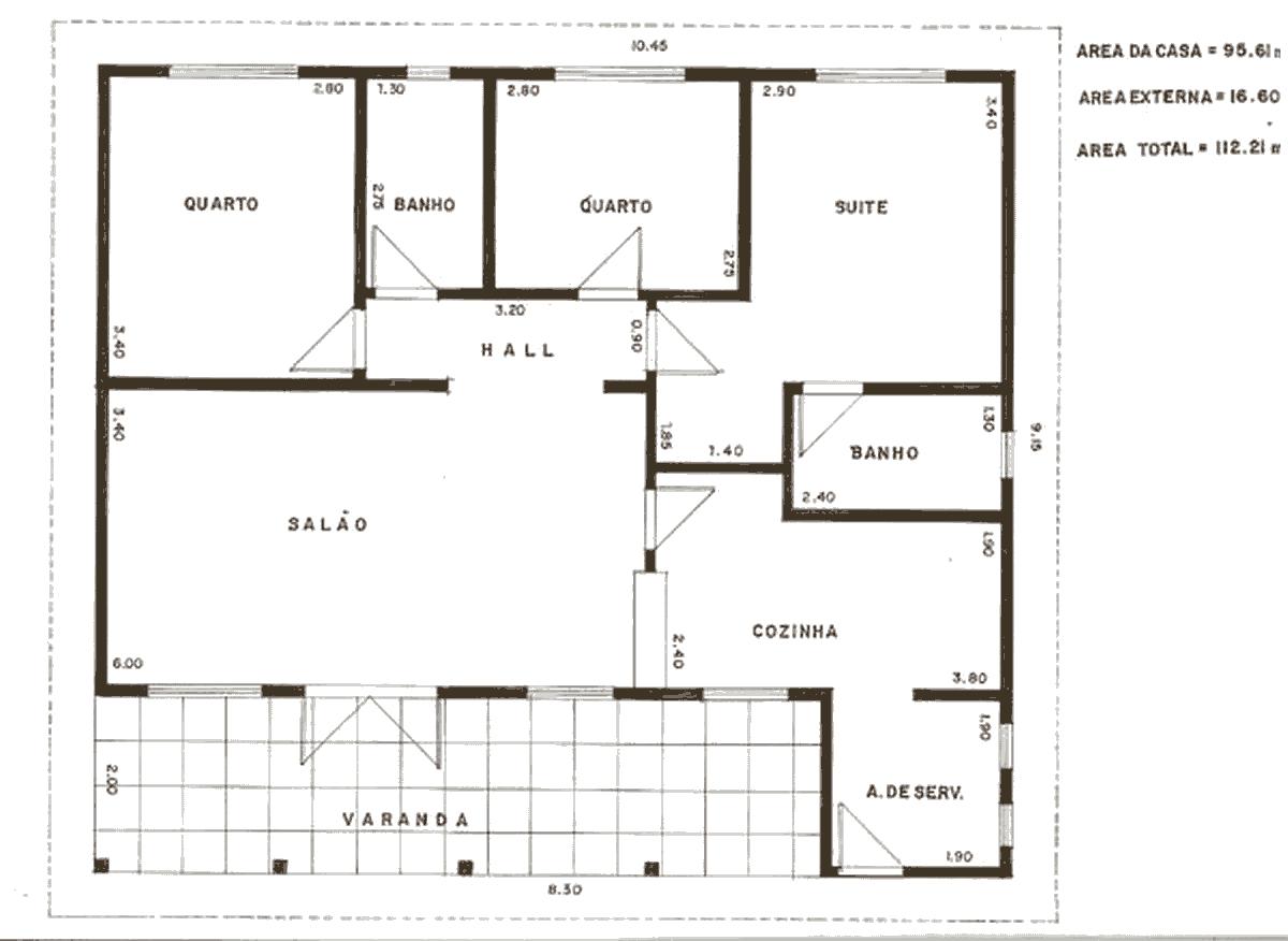 Plantas de Casas – Modelos de Plantas Grátis #393022 1200 876